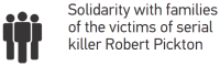 Solidarity with families of the victims of serial killer Robert Pickton · logo