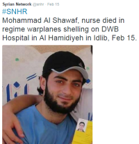 Syrian Network snhr nurse