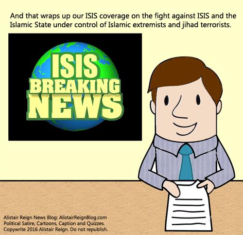 New Comic Strip Terror News With Chuck Alistair Reign News Blog