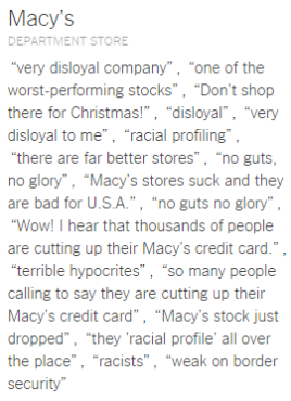 Top 20 Places and Things Donald Trump Has Insulted macy