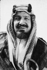 "Abdulaziz ""Ibn"" Al-Saud, Circa 1945."