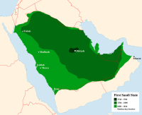 The first Saudi State 1744-1818