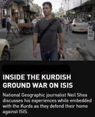 Today, ISIS controls over a third of Iraq. The Kurdish and their underdog army defend their home against the world's most feared and ruthless threat.