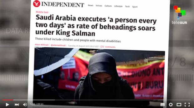 Inside Saudi Arabia Butchery Slavery History of Revolt - Saudi Arabia executes a person every two days as rate of beheadings soars under King Salman.