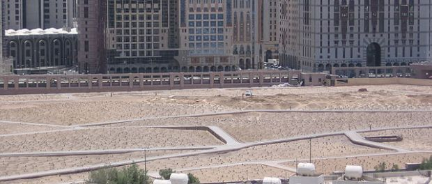 Today there is no sign of the Jannatul-Baqi holy cemetery.
