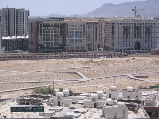 "Today there is no sign of the Jannatul-Baqi holy cemetery. His infamous use of iconoclasm and religious tyranny was all part of King Abdul Aziz ibn Saud's quest to ""re-envision"" the holy cities with an infrastructure that would support his Wahhabi interpretation of Islamic belief, which also conveniently helped secure the Al-Saud family's position as kings and royal rulers of the realm."