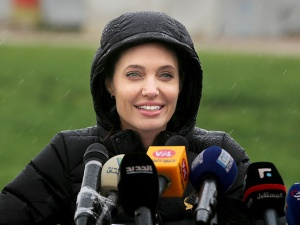 Angelina Jolie Pitt returned to the Bekaa Valley in Lebanon on Tuesday in her capacity as a special envoy for the United Nations's refugee agency, pleading with world leaders to step up to help the millions displaced.