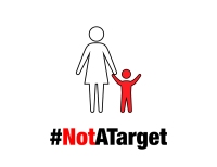 mothers and children not a target