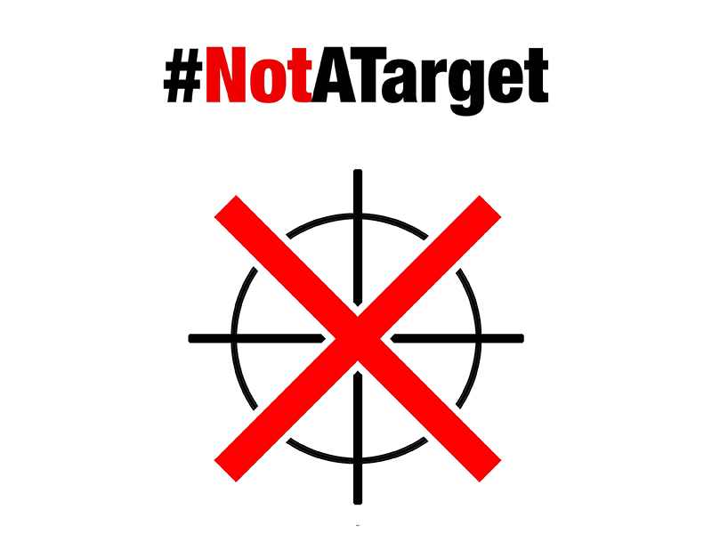 Canada Support Doctors Without Borders NotATarget Campaign