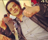 Ashraf Fayadh before his arrest