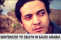 This New Sentence Reverses An Earlier Ruling of Four Years In Jail and 800 Lashes. A new judge sentenced a man to death for apostasy on November 17, 2015, for alleged blasphemous statements during a discussion group about a book of his poetry. The accused, Ashraf Fayadh, age thirty-five, denies the charges and claims that another man made false accusations to the country's religious police following a personal dispute. Fayadh has 30 days to file his appeal.