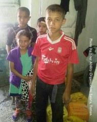 Yemen: YAO visits an orphanage to deliver care packages.