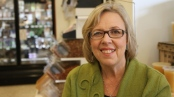 Elizabeth May, MP from Vancouver Island and leader of the Green Party,