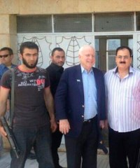 John McCain has met up with jihadist terrorist leaders in Syria.