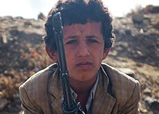 Child Soldier in Yemen. 2015. (Photo: Vice).