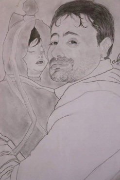 father holding girl child - a sketch..jpg-large