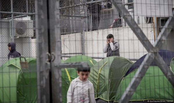 Hundreds of children, fleeing some of the worst crises of our times are locked behind bars. This is #Europe in 2016.