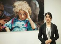 Nadia Murad Basee Taha, 21, a Yazidi activist who says she was held captive by Islamic State militants in 2014, in London, February 8, 2016