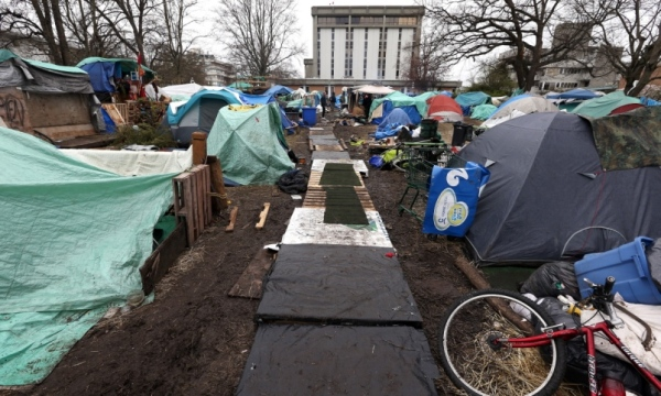 Tent-City.view of walk way.jpg after more time passed