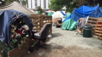 Victoria's tent city 2016. (Photo: CBC News).