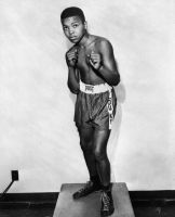 A 12-year old Muhammad Ali, in 1954