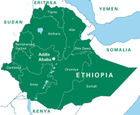 Oromia, Ethiopia's largest region. (Photo: Irish Aid Org).