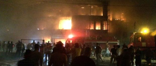 The popular al-Hadi Centre was badly damaged in the explosion. (GP News).