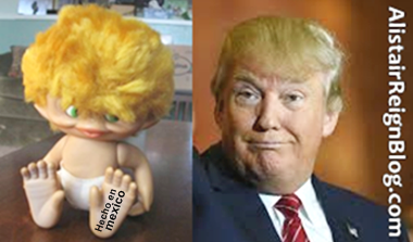 Troll Baby and Donald Trump: which one has the wit of a magic 8 ball?