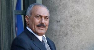 Former Yemen President, Ali Abdullah Saleh.