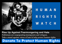 Human Rights Watch - Please donate today to protect human rights for all.