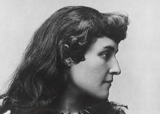 "E. Pauline Johnson (Tekahionwake) 1861-1913 - Poet The daughter of a Mohawk chief and an Englishwoman, E. Pauline Johnson is best known for the poetry she wrote celebrating her Aboriginal heritage. During her career, Johnson adopted her Aboriginal grandfather's name, Tekahionwake, meaning ""double wampum."" Between 1892 and 1910, Johnson undertook a series of speaking tours in Canada, the United States and England and travelled across Canada giving poetry readings in many remote settlements that saw few other forms of entertainment. Throughout her travels Johnson's recitations of patriotic poems and short stories featuring Canadian culture made her a popular ambassador for Canada. Photo: Library and Archives Canada Source: The Canadian Encyclopedia."