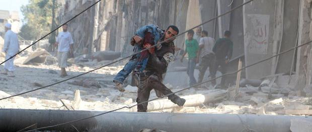 Dozens of civilians killed in alleged U.S. coalition strikes in Syria. (Photo: CBC News).