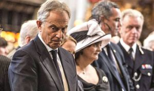 Tony Blair at the July 7th anniversary service