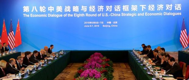 Treasury Secretary Jacob J. Lew participated in the Economic Dialogue of the eighth U.S.-China Strategic and Economic Dialogue. On June 6-7 2016, Treasury Secretary Jacob J. Lew participated in the Economic Dialogue of the eighth U.S.-China Strategic and Economic Dialogue in Beijing, China.