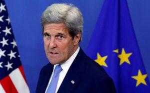John Kerry CREDIT: FRANCOIS LENOIR/FRANCOIS LENOIR