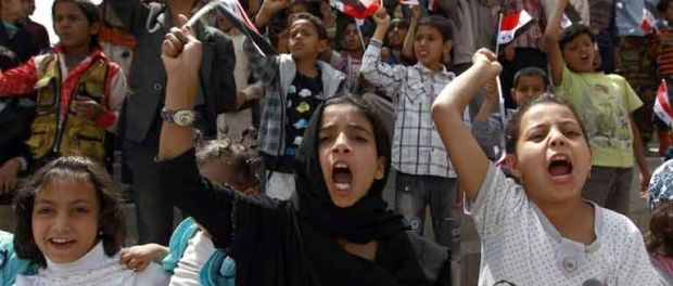 Yemeni children protest for peace: Yemen's government has expressed doubts over UN-backed efforts to end its conflict with Shiite Huthi rebels who have seized control of large parts of the country. The government still has