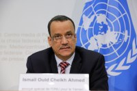 Special Envoy for Yemen Ismail Ould Cheik Ahmed. UN Photo Elma Ocik