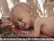 And now - a country with more than 10,000 people killed in the ensuing violence, over 10,000 more died of starvation under the blockade of humanitarian aid and supplies - the Middle East's poorest nation, Yemen is reduced to the brink of famine.