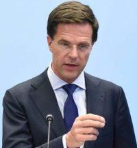 Mark Rutte, Dutch Prime Minister.