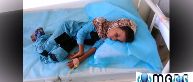 Not only that but also infectious diseases started appearing everywhere in the country, We have noticed lately that cholera epidemic starting spreading very fast in the country, deteriorating the lives of millions of Yemenis, who started suffering due to the lack of health services in the their country.