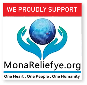 Please donate to Mona Relief Canada.
