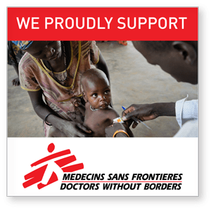 Please donate to Doctors Without Borders