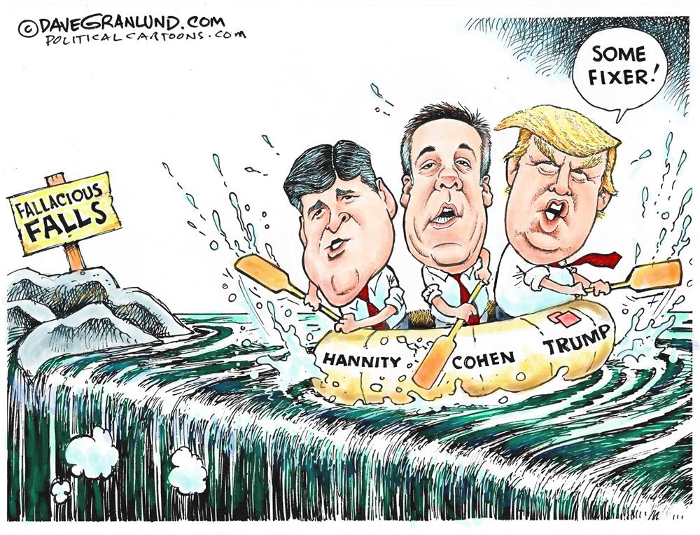 Trump Cartoons The Best Of Hannity Humour Alistair Reign