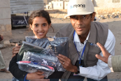 Fatik Abdullah al-Rodaini, a Yemeni Journalist and humanitarian worker
